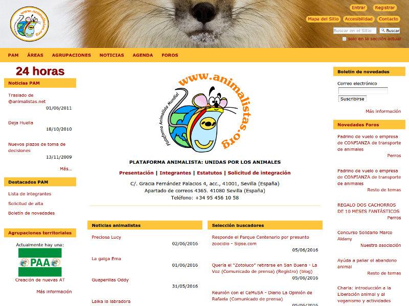 Sitio web actualizado